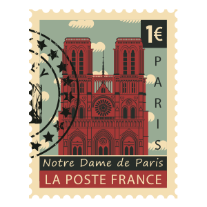 Stamps Paris Stickers messages sticker-2