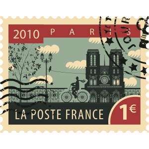 Stamps Paris Stickers messages sticker-7