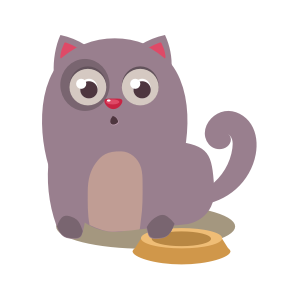 Cartoon Cat Stickers messages sticker-1