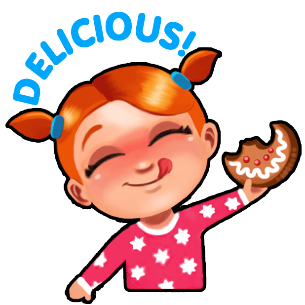 Delicious - Christmas Carol messages sticker-7