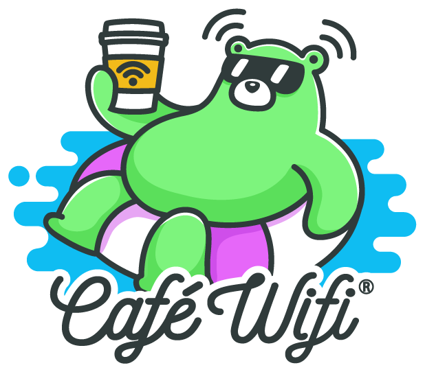Café Wifi messages sticker-0