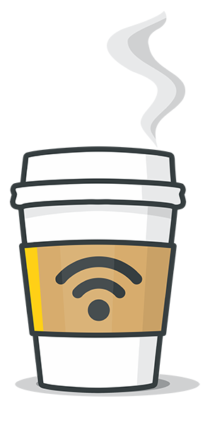 Café Wifi messages sticker-1