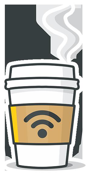 Café Wifi messages sticker-1