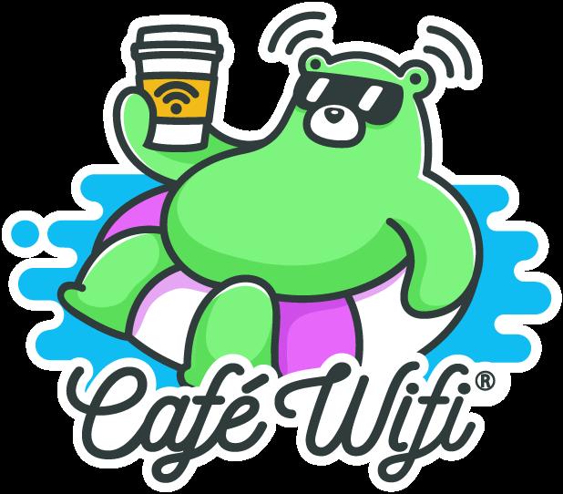 Café Wifi messages sticker-0