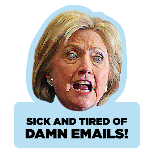 ElectionMoji - Hillary Clinton Emoji (HillaryMoji) messages sticker-10