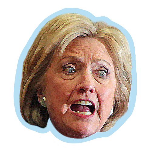 ElectionMoji - Hillary Clinton Emoji (HillaryMoji) messages sticker-4