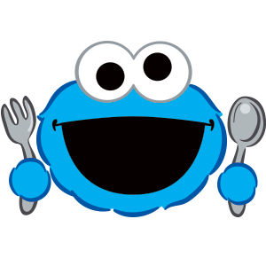 Cookie Monster Stickers messages sticker-2