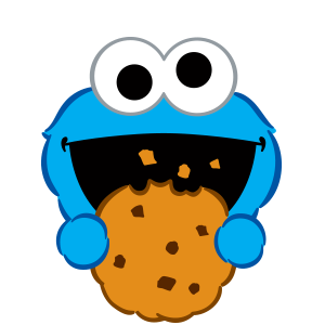Cookie Monster Stickers messages sticker-7