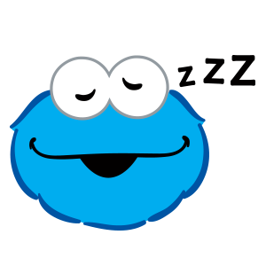 Cookie Monster Stickers messages sticker-10