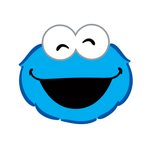 Cookie Monster Stickers messages sticker-1