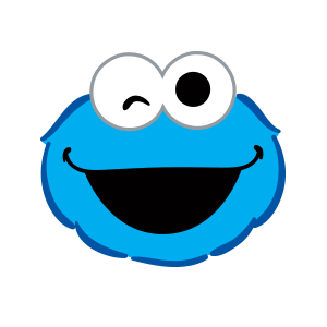 Cookie Monster Stickers messages sticker-4
