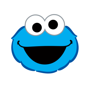 Cookie Monster Stickers messages sticker-0