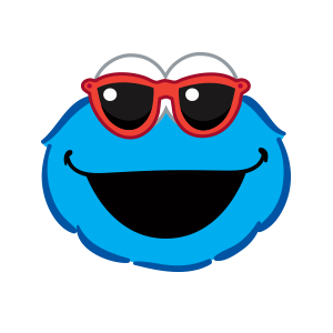 Cookie Monster Stickers messages sticker-6