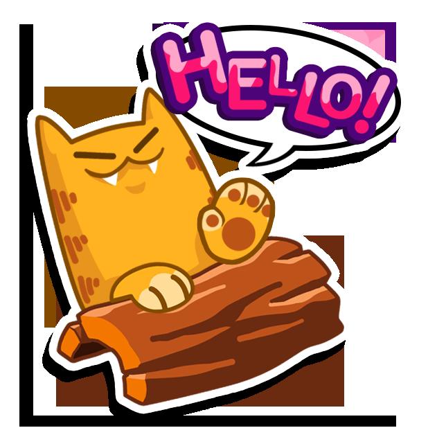 Splashy Cats Stickers messages sticker-0
