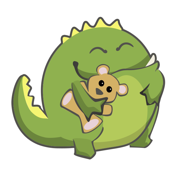 Frogasaurus Rex messages sticker-8