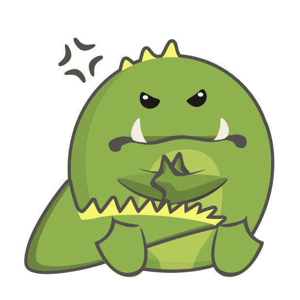 Frogasaurus Rex messages sticker-5