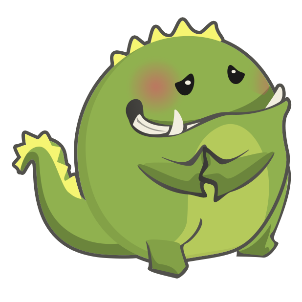 Frogasaurus Rex messages sticker-11