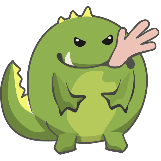 Frogasaurus Rex messages sticker-4