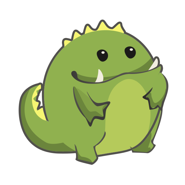 Frogasaurus Rex messages sticker-0