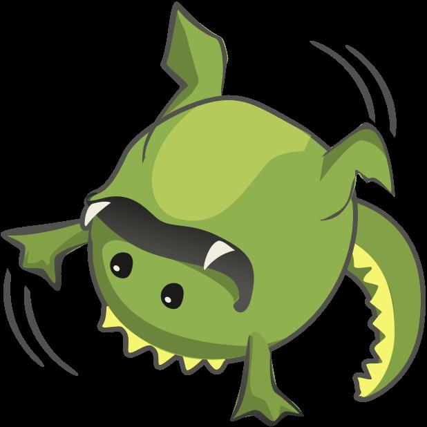 Frogasaurus Rex messages sticker-1
