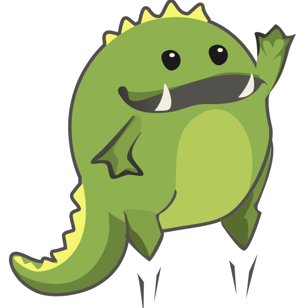 Frogasaurus Rex messages sticker-3