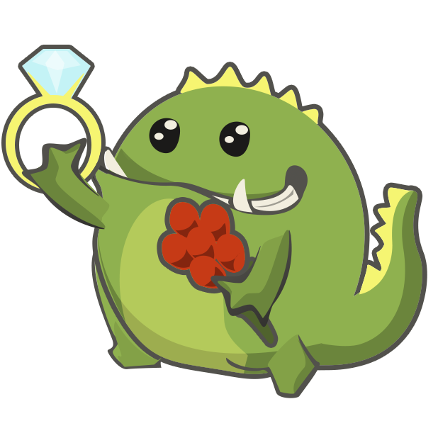 Frogasaurus Rex messages sticker-6
