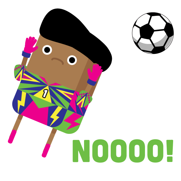 Brickmoji Stickers: Soccer Edition messages sticker-8