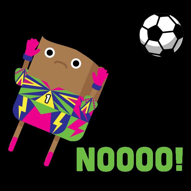 Brickmoji Stickers: Soccer Edition messages sticker-9
