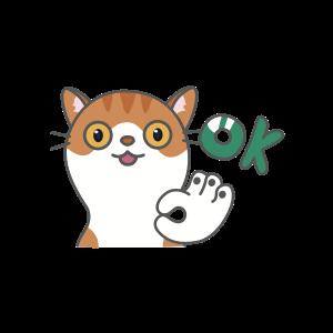 Cats Buddies Stickers messages sticker-9