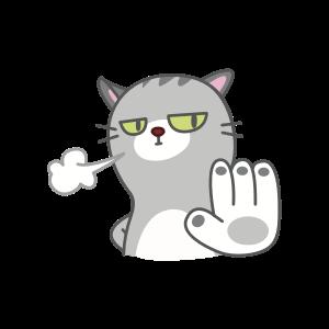 Cats Buddies Stickers messages sticker-3