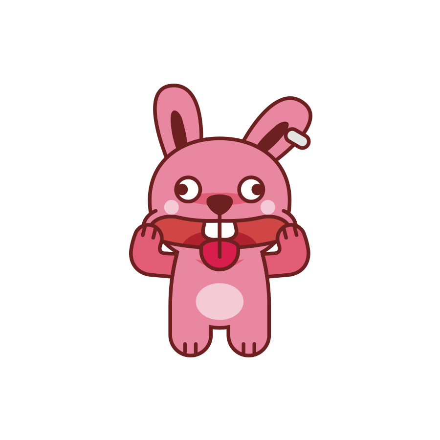 Brat Bunny messages sticker-0