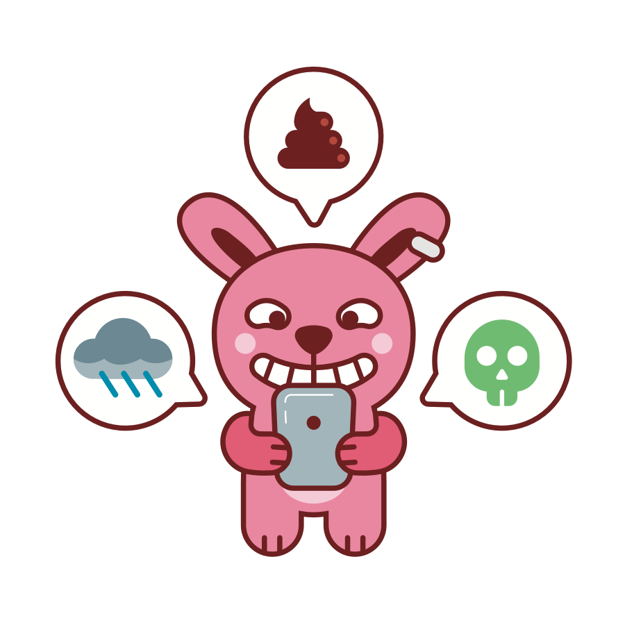Brat Bunny messages sticker-10