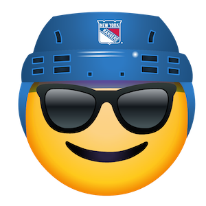New York Rangers Stickers messages sticker-2