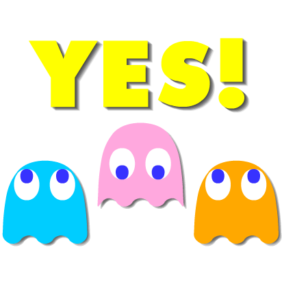 PAC-MAN Moving Stickers messages sticker-6