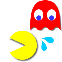 PAC-MAN Moving Stickers messages sticker-8