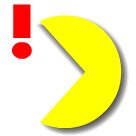 PAC-MAN Moving Stickers messages sticker-0