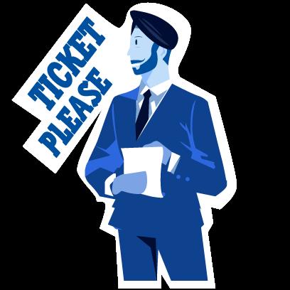 Trains: Book IRCTC & PNR Check messages sticker-1