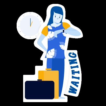 IRCTC Running Status: ixigo messages sticker-8