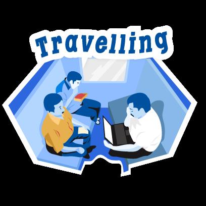 IRCTC Train Booking - ixigo messages sticker-1