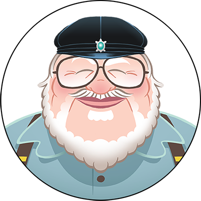 George R. R. Martin Stickers messages sticker-4