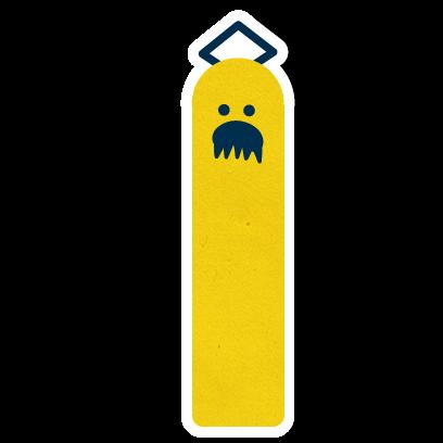 ふせん案内 messages sticker-1