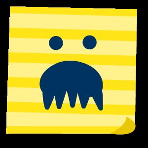 ふせん案内 messages sticker-4
