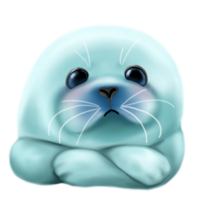 Bubble & Mint Seal Stickers for Text Messages messages sticker-8