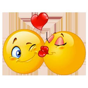 Flirty Emoji Adult Stickers messages sticker-3