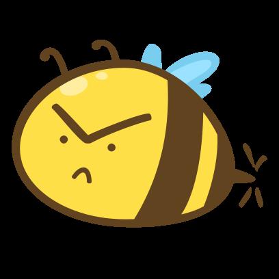Buzz Bees messages sticker-3