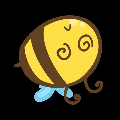 Buzz Bees messages sticker-5
