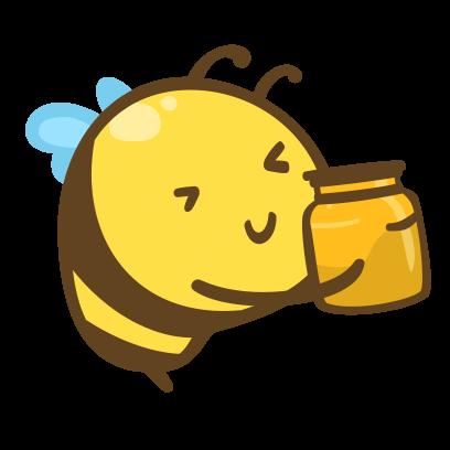 Buzz Bees messages sticker-10