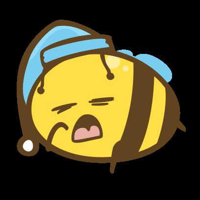 Buzz Bees messages sticker-11