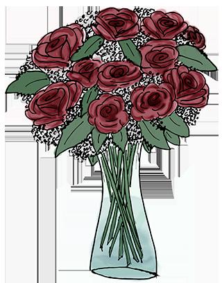 Flower Bouquet Stickers messages sticker-1