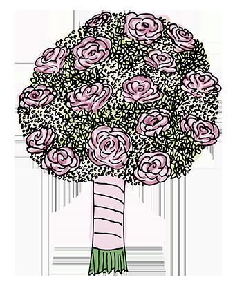 Flower Bouquet Stickers messages sticker-3